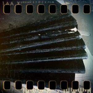Stacked Moleskine notebooks