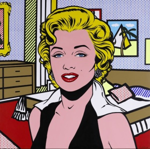 custom pop art printed on canvas